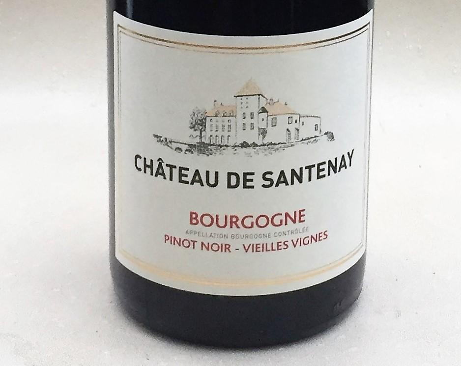 Chateau de santenay pinot noir vieilles vignes 2012 for La fenetre a cote pinot noir 2012
