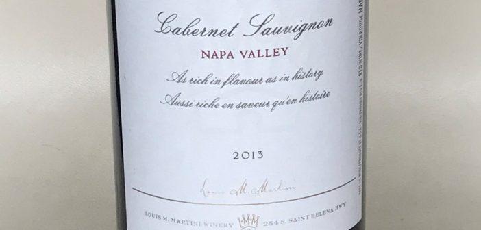 Louis M. Martini Napa Valley Cabernet Sauvignon 2013