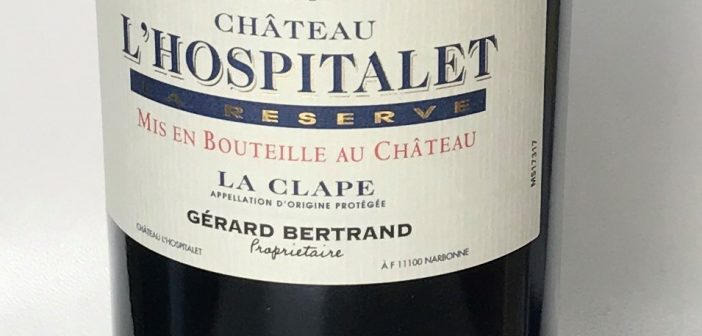 Chateau l'Hospitalet la Reserve 2015