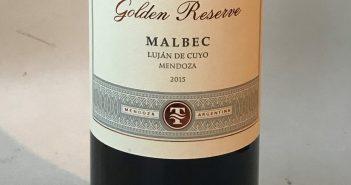 Trivento Golden Reserve Malbec 2015