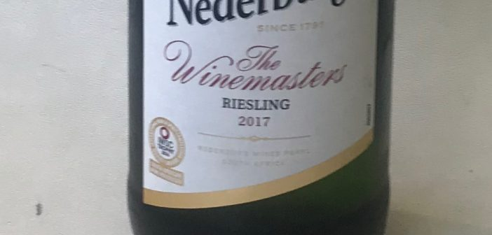 Nederburg The Winemasters Riesling 2017