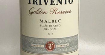 Trivento Golden Reserve Malbec 2016