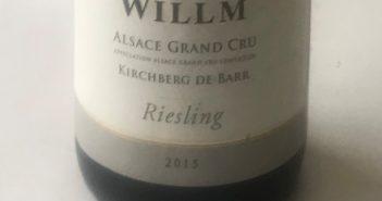 Willm Grand Cru Kirchberg de Barr Riesling 2015