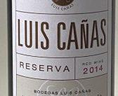 Luis Canas Reserva 2014
