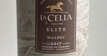 La Celia Elite Malbec 2017