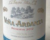 Vina Ardanza Reserva 2012