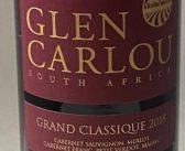 Glen Carlou Grand Classique 2018